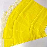 Sacchetto di plastica della busta dell'imballaggio del corriere giallo di LDPE/HDPE