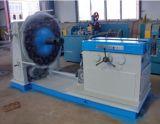 Sola máquina del tejido del manguito del metal del alambre de acero del apilador
