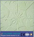 Cartone di fibra acustico del poliestere di alta qualità per la decorazione della parete