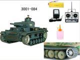 1: 16 독일 RC 탱크 (증기 또는 향상) (3001-084)