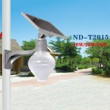IP65 10W-60W tous dans une rue lumière solaire DEL de capteur