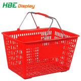 Продуктовый магазин розничной торговли пластиковые стороны корзина для мини-Shop