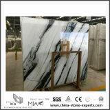 Panda White Marble pour table de cuisine comptoir et carrelage