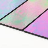Hojas rectangulares al aire libre del vidrio manchado de los azulejos de mosaico de los materiales de construcción