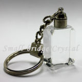 Cristal 3D LED Keychain (ND3149)