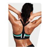 Новый спортивный бюстгальтер с термической возгонкой моды йога бюстгальтер с застежкой на молнию закрытия