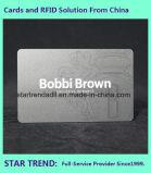 Cartão de presente com tira magnética Impressão a cores completas Laminação mate