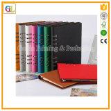 Kundenspezifische gebundene Ausgabe versteckte gewundene Notizbücher