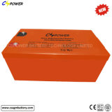 Batería profunda del gel de la batería 12V 250ah del ciclo de Cspower