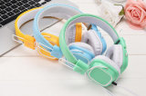 3.5mm Jack Fashion Folding Stereo Wired Universal Gaming Earphone Headsets