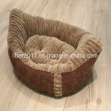 高品質のハンドメイドの船の形屋内ペット家具の飼い犬猫のベッドのソファー