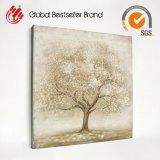 Handmade 나무 색칠 칼 화포 (LH-M170719)에 현대 유화