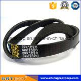 6pk1020 Auto Parts Ribbed V-Belt avec prix bon marché