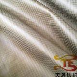 tela de nylon cheia do tafetá de 380t Ripstop para para baixo revestimentos e vestuário