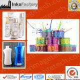 La soie d'encre UV pour les claviers, les bouteilles en plastique, cosmétiques, articles de papeterie, Electronics