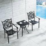 Venda a quente retângulo de alumínio com design moderno Jardim Mesa de jantar com preço razoável