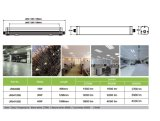 45W 새로운 범위 연결할 수 있는 플라스틱 LED 세 배 증거 빛
