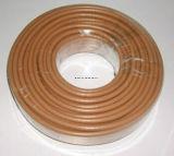 Cable coaxial estándar del Tri-Blindaje RG6 con el conductor de cobre