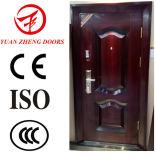China Proveedor de la puerta de acero de seguridad antirrobo con puerta Lcok