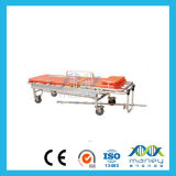 Barella piegata dell'ambulanza della lega di alluminio per l'emergenza