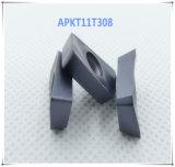 Cutoutil Apkt  для стальной алтернативы части CNC вставки карбида Мицубиси подвергая механической обработке