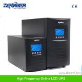 1kVA Ture UPS em linha de alta freqüência de onda senoidal pura 110VAC 220VAC 230VAC RS232 USB Ligação