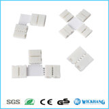 Connecteur à couple sans soudure sans soudure 2 pinces pour 5050 LED Strip Light