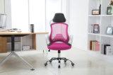높은 뒤 행정상 메시 팔을%s 가진 인간 환경 공학 사무실 의자