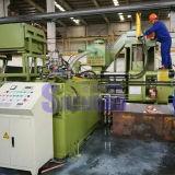 De horizontale Automatische Machine van het Briketteren van het Schroot voor Messing
