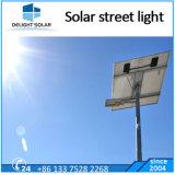 Blanc chaud Battery-Hanging galvanisé à chaud de l'extérieur de la route de lumière LED solaire