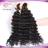 8A het Menselijke Haar die van Jerry Curl de Cambodjaanse Maagdelijke Inslag van het Haar weven