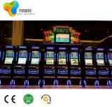 Macchina di gioco del gioco di collegamento della macchina della macchina del gioco della scanalatura di Cai di duo di Fu di duo