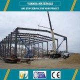 Almacén de la estructura de acero de ingeniería Pre
