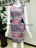 Платье женщин модное здравое с блокировкой