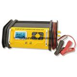 Pantalla LCD de 20 a 12 voltios completamente automática de cargador de batería en 4 pasos