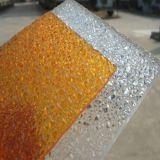 Panneau gravé en relief par feuille de diamant de polycarbonate