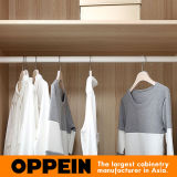 Wardrobe Walk-in branco da laca Matte bege moderna (YG91555)