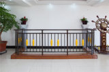 Haohan 고품질 장식적인 직류 전기를 통한 강철 Alluminum 합금 발코니 가로장으로 막는 21