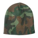 Новым шлем связанный жаккардом (JRK042)