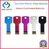 Fördernder preiswerter Großverkauf USB-Schlüsselmetall