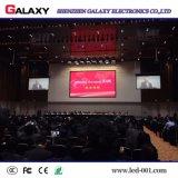 Aluminium Die El panel de visualización de interior de lanzamiento de LED P4 para hacer publicidad, alquiler, muestra