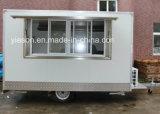 熱い販売の移動式ケイタリングのトレーラー/移動式レストランの移動式食糧トラック