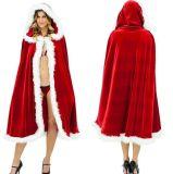 대중적인 크리스마스는 빨간 외투를 입는다