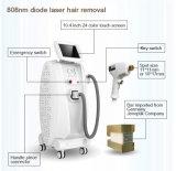 Strumentazione Painfree approvata di bellezza del laser del diodo di rimozione 808nm dei capelli del Ce