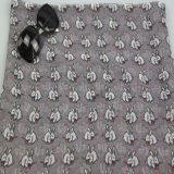 Шарф кролика печатание полиэфира для вспомогательного оборудования повелительницы способа, шали картины кролика