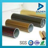 Perfil de extrusión de aluminio para cortina perfil de la pista con diferentes tamaños Colores