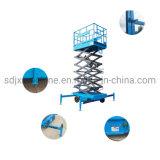 7m'échafaudage hydrauliques pour la peinture table élévatrice à ciseaux hydraulique