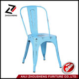Vente en gros Anti-Rust Antique Vintage Metal Chair Meubles extérieurs Antique Restaurant Chairs