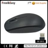 Schwarze grosse eingebrannte Qualität optisches 2.4GHz drahtlose Maus für Verkauf