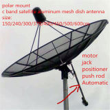 인공위성 알루미늄 메시 접시 텔레비젼 HD 디지털 비유적인 안테나 4개의 6개의 8개의 10의 12의 14의 16의 18의 20의 22FT 피트 C 악대